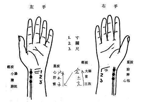 【读经典学中医】《难经》白话解:第二难,中医把脉第一步定位